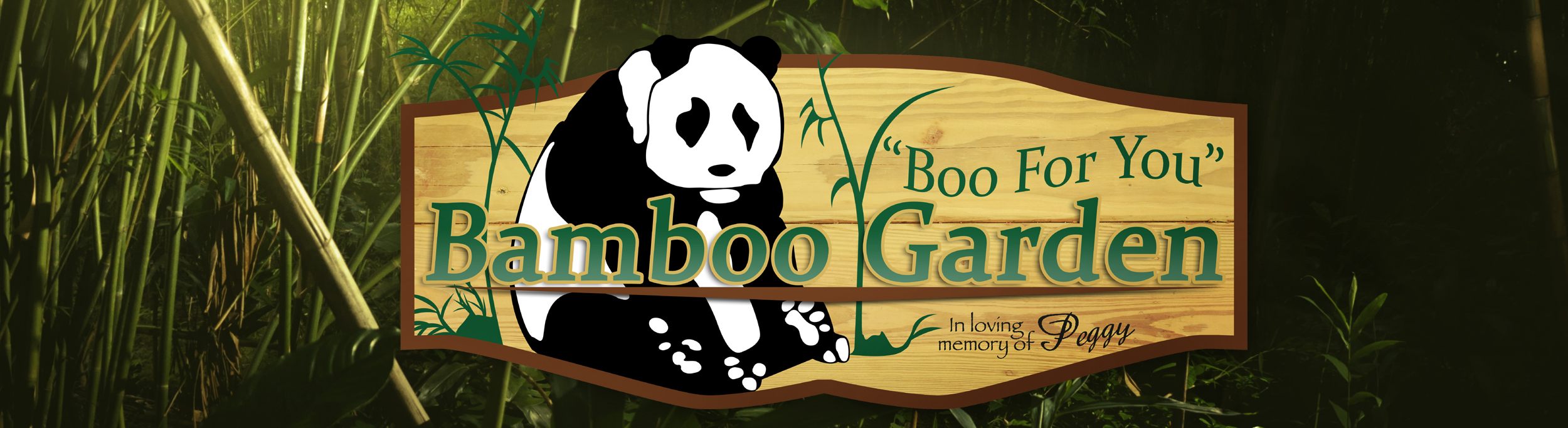 Boo for you bamboo